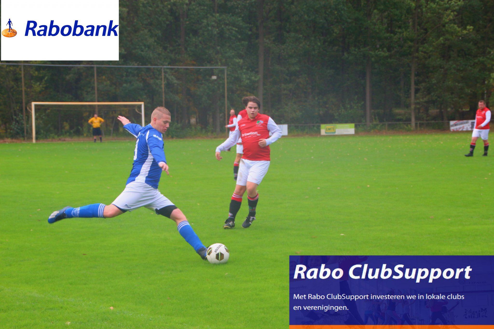 Wij doen mee met Rabo ClubSupport! Kunnen wij op jouw stem rekenen? Vanaf 5 oktober kunt u direct stemmen in de Rabo App of online op rabobank.nl/clubsupport